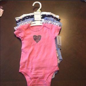 5pc set Onesie Baby Girl Bundle NWT